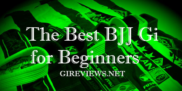 The Best BJJ Gi for Beginners