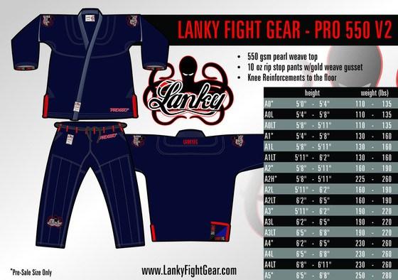 Lanky Fight Gear Pro Gi