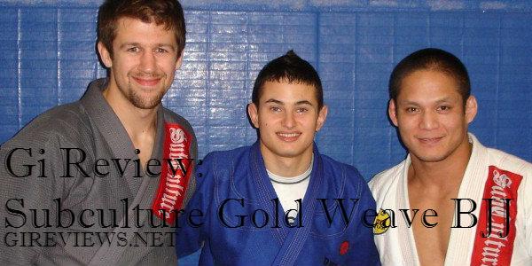 Subculture Gold Weave Brazilian Jiu Jitsu Gi Review