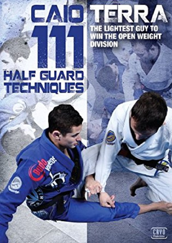 BJJ Holiday Gift Guide (Gi Edition) - Caio Terra Half Guard Techniques DVD