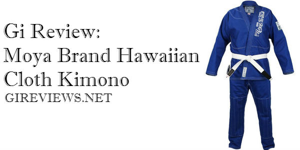 Gi Review: Moya Brand Hawaiian Cloth Kimono