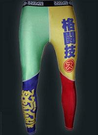 scramble rainbow spats