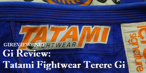 Tatami Fightwear Terere Gi Review