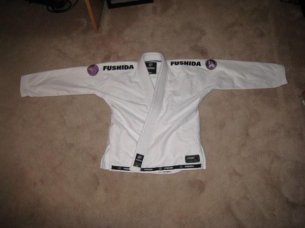 fushida women's comp ls gi jacket