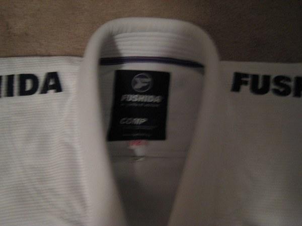 fushida women's comp ls gi collar