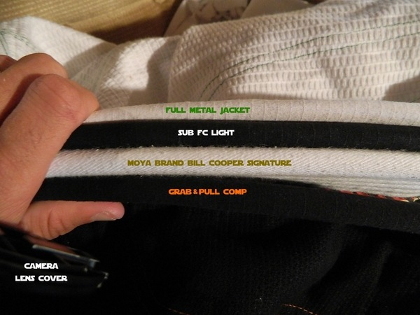 grab and pull premium gi collar comparison