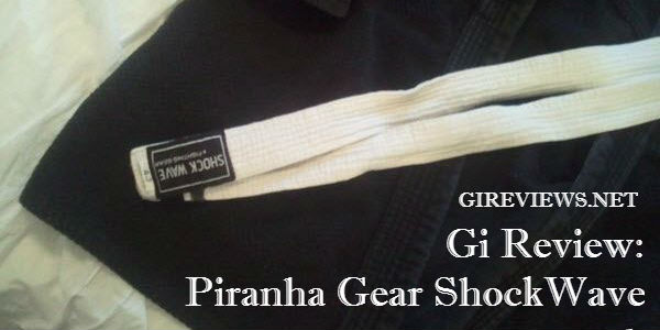 Piranha Gear ShockWave Single Weave Gi Review