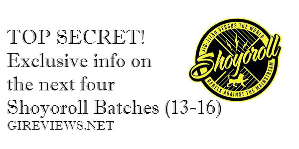 TOP SECRET! Exclusive info on the next four Shoyoroll Batches (13-16)