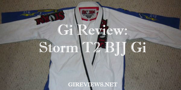 storm t2 bjj gi review