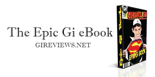 The Epic Gi eBook