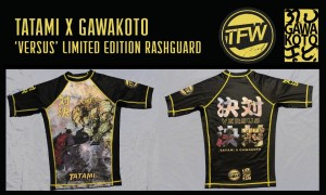 tatami fightwear x gawakoto rashguard
