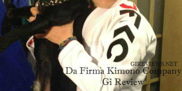 Da Firma Kimono Company Gi Review