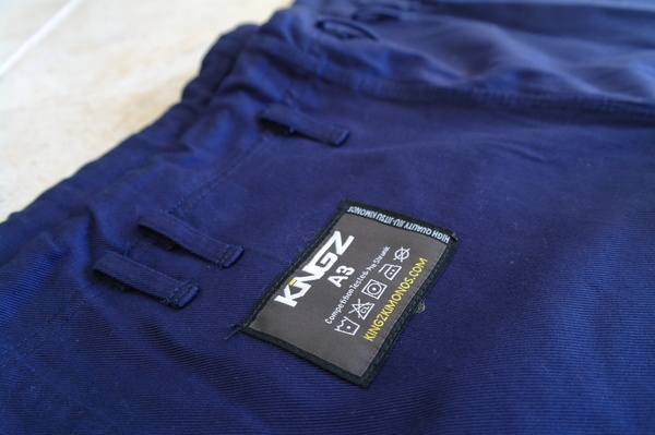 Kingz 450 Comp V2 Gi Review pants logo