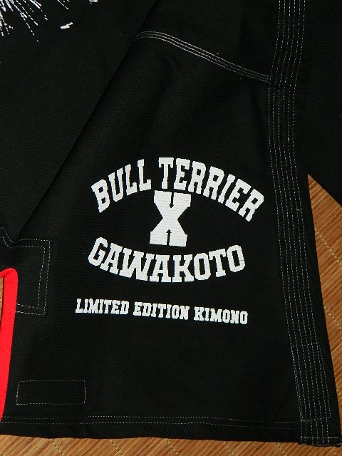 bull terrier gawakoto unleashed left inside