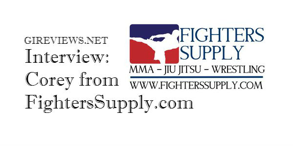 Interview with Corey from FightersSupply.com