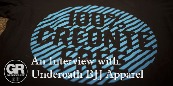 Underoath BJJ Apparel Creonte Shirt