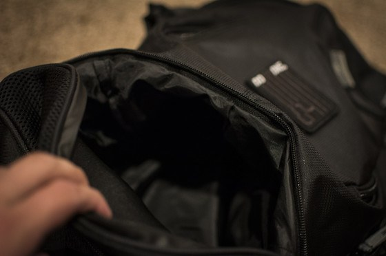 Do or Die Hyperfly Pro Gear Bag bottom compartment