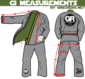 gi reviews gi measurement size chart