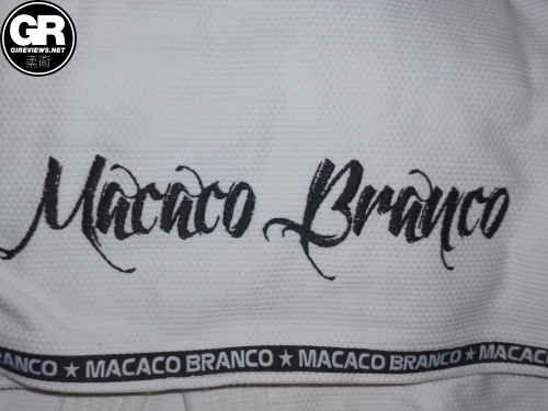 macaco branco gi review back skirt embroidery