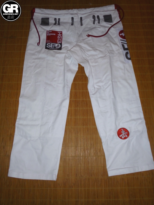 strike fightwear hg13 bjj gi review pants