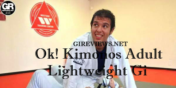 Ok! Kimonos Adult Lightweight Gi Review