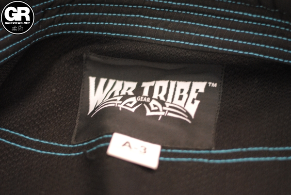 war tribe gear jiu jitsu gi review yoke label