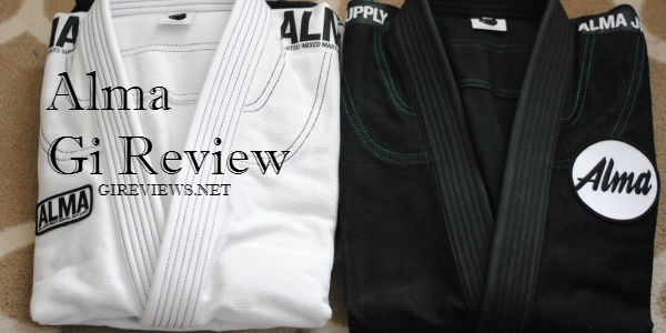 alma brazilian jiu jitsu gi review