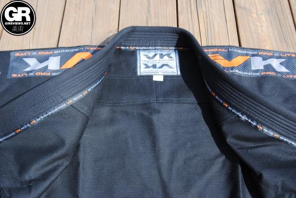 vandal kimonos bjj gi review lapel 2