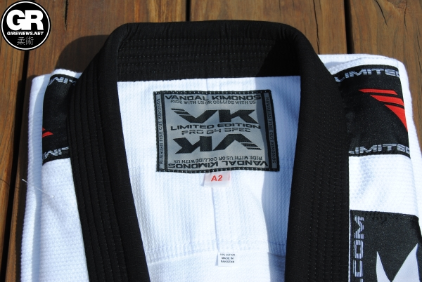 vandal kimonos bjj gi review pro g4 lapel 2
