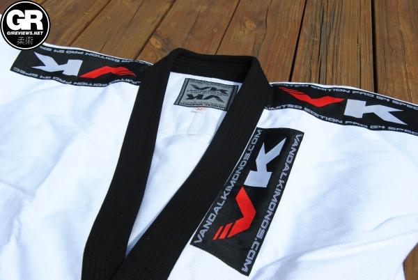 vandal kimonos bjj gi review pro g4 lapel