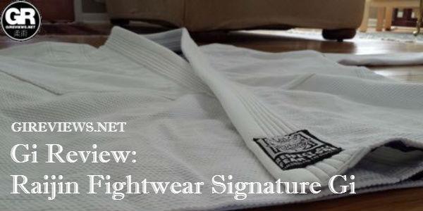 Raijin Fightwear Signature BJJ Gi