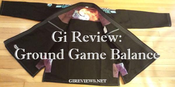ground game balance gi review