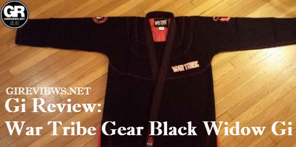 War Tribe Gear Black Widow Gi Review