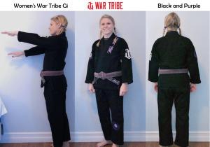 Women's War Tribe Gi Black and Purple