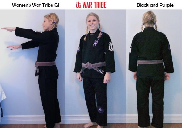 Women's War Tribe Gi Black and Purple