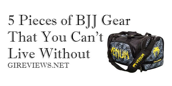 5 Pieces of BJJ Gear That You Can't Live Without