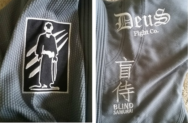 Deus Fight Co Blind Samurai Patch