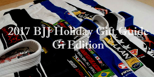2017 BJJ Holiday Gift Guide (Gi Edition)