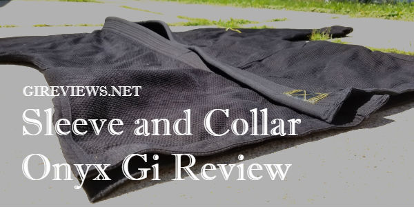 Sleeve And Collar Onyx Gi: A Fresh Approach To The Basics