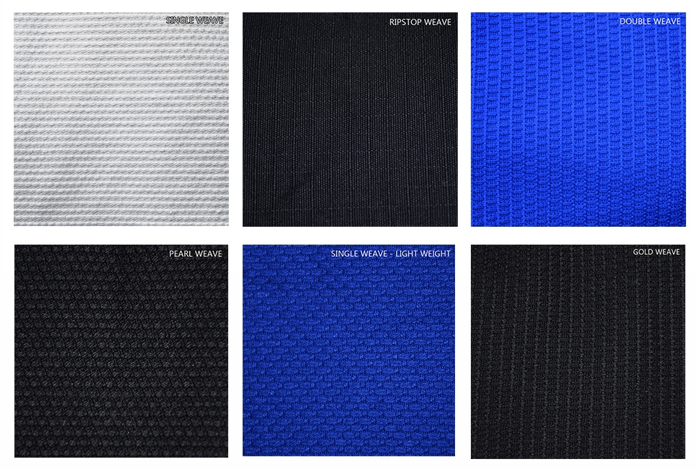 types-of-bjj-gi-weaves