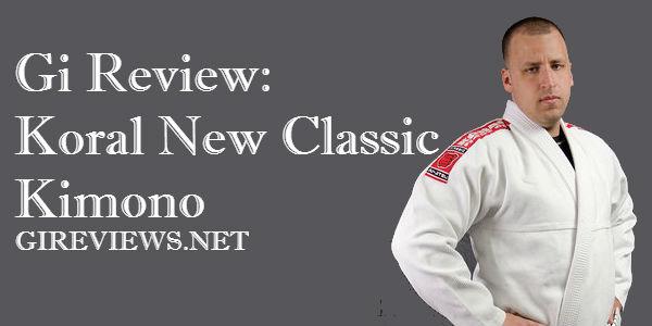 Gi Review: Koral New Classic Kimono
