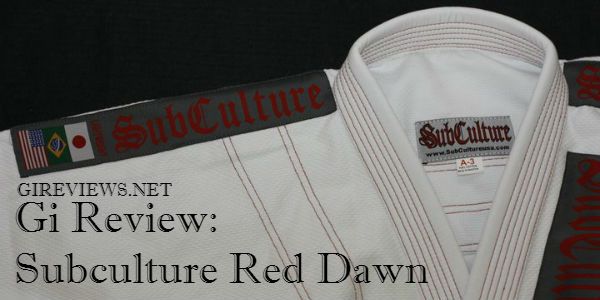 Subculture Red Dawn Lightweight Gi Review