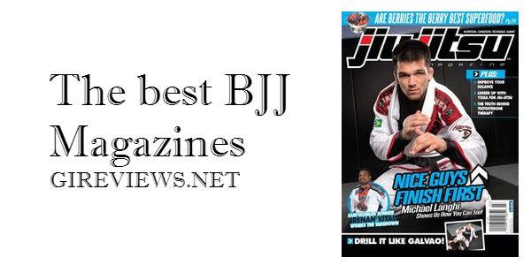 The best Brazilian Jiu Jitsu (BJJ) Magazines