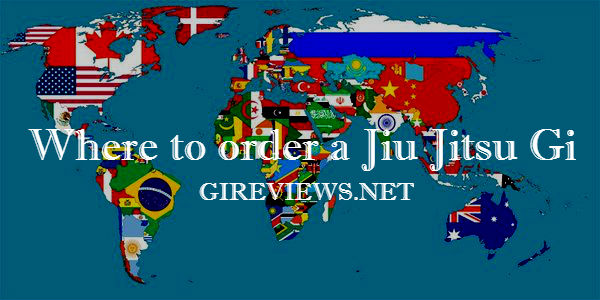Where to order a Jiu Jitsu Gi