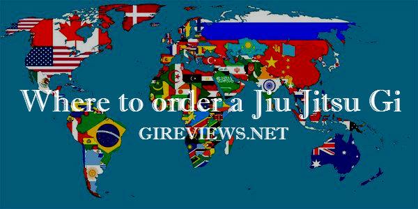 Where to order a Jiu Jitsu Gi