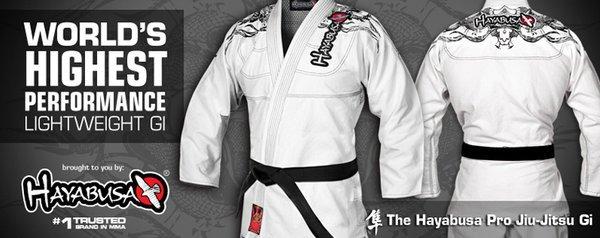 Hayabusa Brazilian Jiu Jitsu Gis