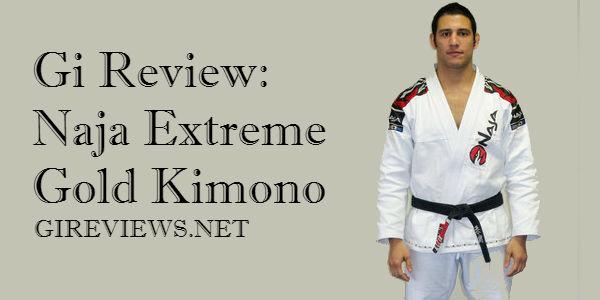 Gi Review: Naja Extreme Gold Kimono