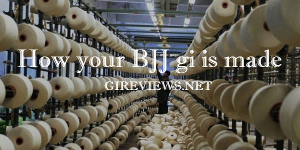 How your BJJ gi is made