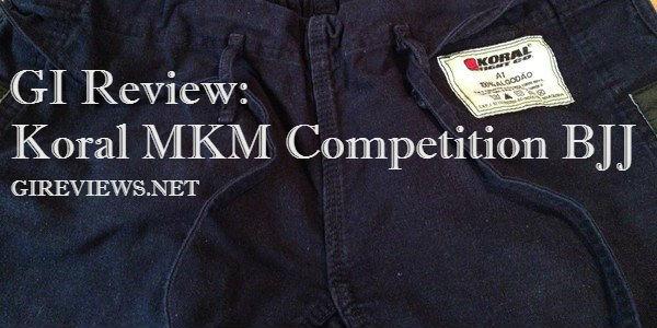 Koral MKM Competition BJJ Gi