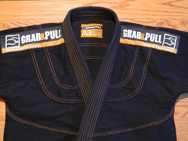 grab and pull premium gi jacket
